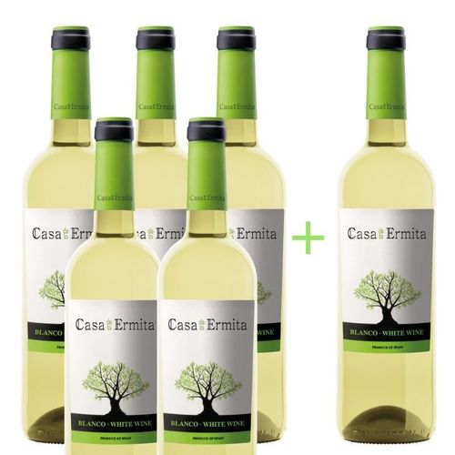 5+1 CASA DE LA ERMITA WHITE (before  ̶3̶3̶€̶) NOW 27.50€